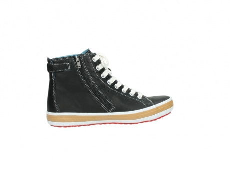 wolky lace up shoes 01225 biker 20000 black leather_12