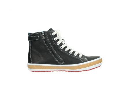wolky lace up shoes 01225 biker 20000 black leather_13