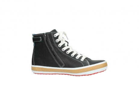 wolky lace up shoes 01225 biker 20000 black leather_14