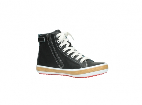wolky lace up shoes 01225 biker 20000 black leather_15