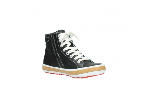 wolky lace up shoes 01225 biker 20000 black leather_16