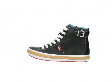wolky lace up shoes 01225 biker 20000 black leather_2