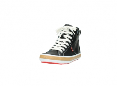 wolky lace up shoes 01225 biker 20000 black leather_21