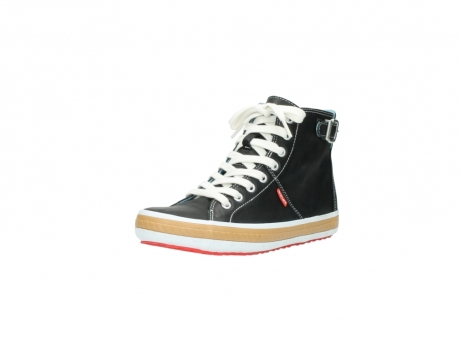 wolky lace up shoes 01225 biker 20000 black leather_22
