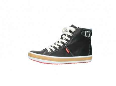 wolky lace up shoes 01225 biker 20000 black leather_24