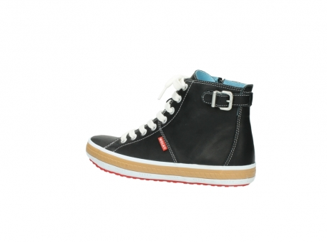 wolky lace up shoes 01225 biker 20000 black leather_3