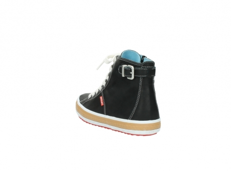 wolky lace up shoes 01225 biker 20000 black leather_5