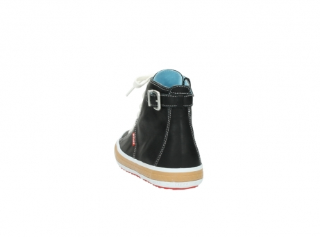 wolky lace up shoes 01225 biker 20000 black leather_6