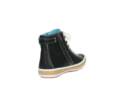 wolky lace up shoes 01225 biker 20000 black leather_9