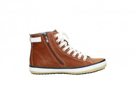wolky lace up shoes 01225 biker 20430 cognac leather_13