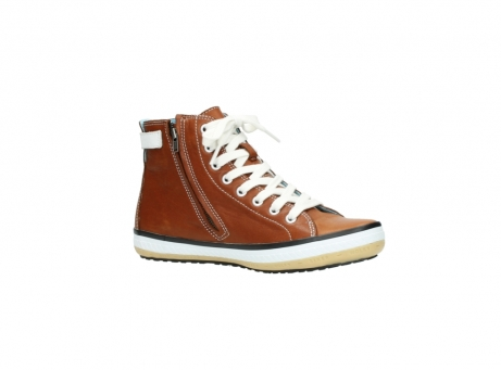 wolky lace up shoes 01225 biker 20430 cognac leather_15
