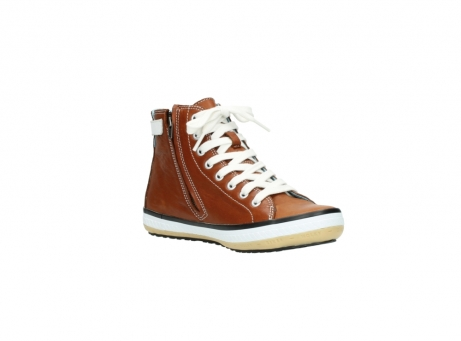 wolky lace up shoes 01225 biker 20430 cognac leather_16