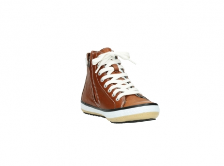 wolky lace up shoes 01225 biker 20430 cognac leather_17