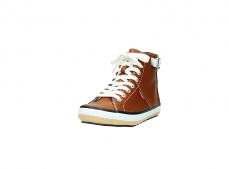 wolky lace up shoes 01225 biker 20430 cognac leather_21