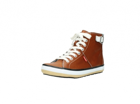 wolky lace up shoes 01225 biker 20430 cognac leather_22