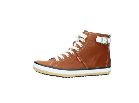 wolky lace up shoes 01225 biker 20430 cognac leather_24