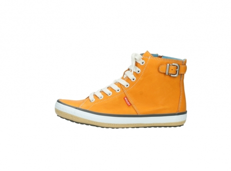 wolky lace up shoes 01225 biker 20550 orange leather_1