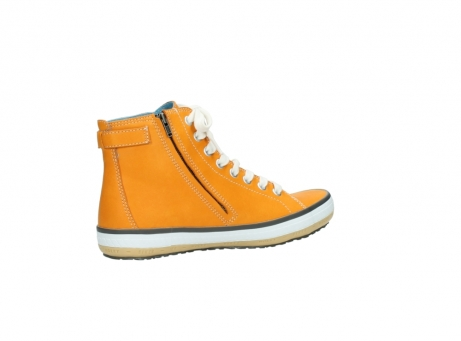 wolky lace up shoes 01225 biker 20550 orange leather_11