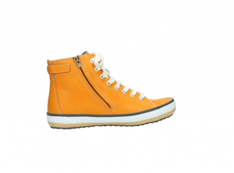 wolky lace up shoes 01225 biker 20550 orange leather_12