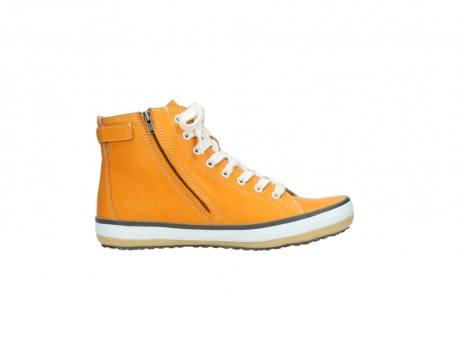 wolky lace up shoes 01225 biker 20550 orange leather_13