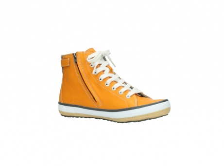 wolky lace up shoes 01225 biker 20550 orange leather_15