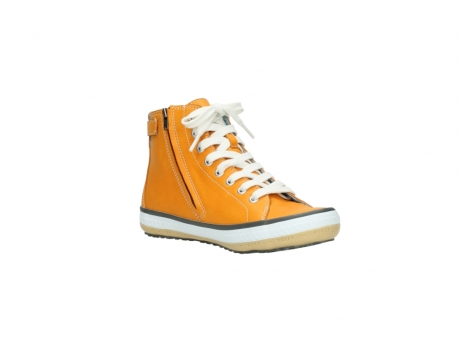 wolky lace up shoes 01225 biker 20550 orange leather_16