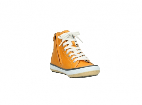 wolky lace up shoes 01225 biker 20550 orange leather_17
