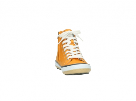 wolky lace up shoes 01225 biker 20550 orange leather_18