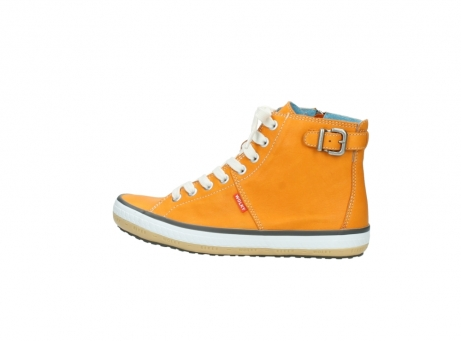 wolky lace up shoes 01225 biker 20550 orange leather_2