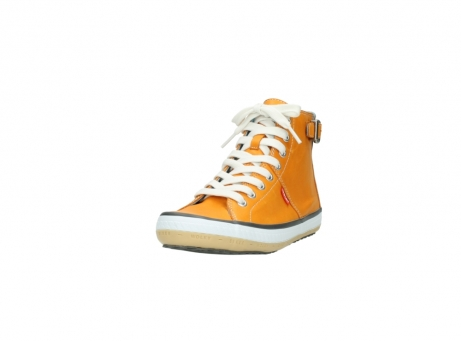 wolky lace up shoes 01225 biker 20550 orange leather_21