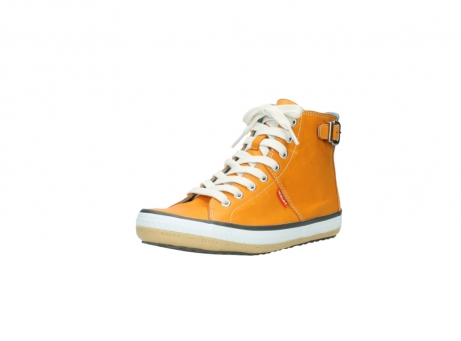 wolky lace up shoes 01225 biker 20550 orange leather_22