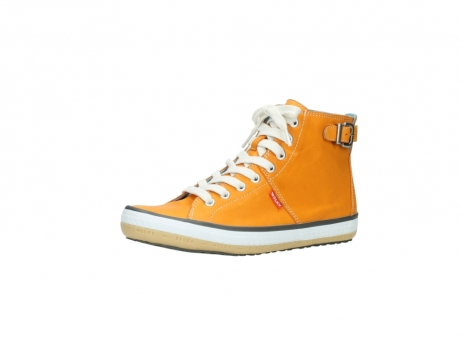wolky lace up shoes 01225 biker 20550 orange leather_23