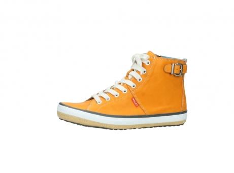 wolky lace up shoes 01225 biker 20550 orange leather_24