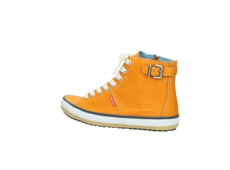 wolky lace up shoes 01225 biker 20550 orange leather_3