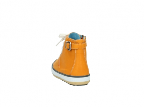 wolky lace up shoes 01225 biker 20550 orange leather_6