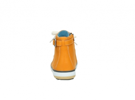 wolky lace up shoes 01225 biker 20550 orange leather_7