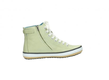 wolky lace up shoes 01225 biker 20700 light green leather_12
