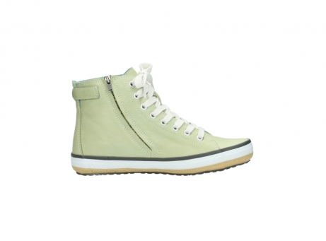 wolky lace up shoes 01225 biker 20700 light green leather_13