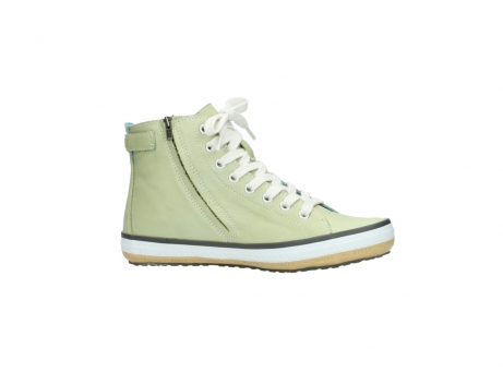 wolky lace up shoes 01225 biker 20700 light green leather_14