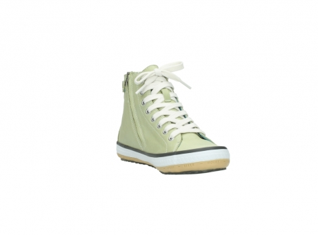 wolky lace up shoes 01225 biker 20700 light green leather_17
