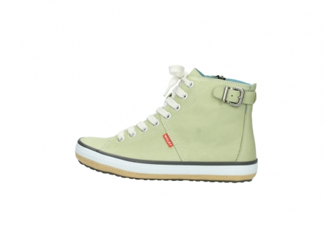 wolky lace up shoes 01225 biker 20700 light green leather_2