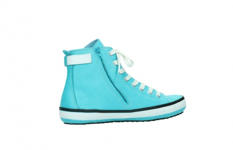 wolky lace up shoes 01225 biker 20760 turquoise leather_11