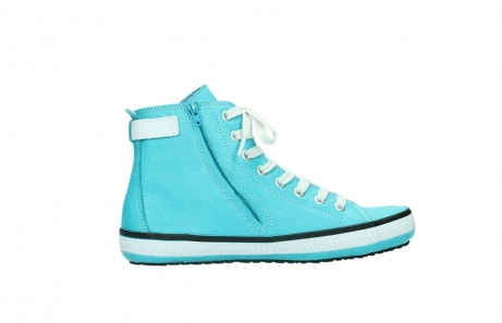 wolky lace up shoes 01225 biker 20760 turquoise leather_12