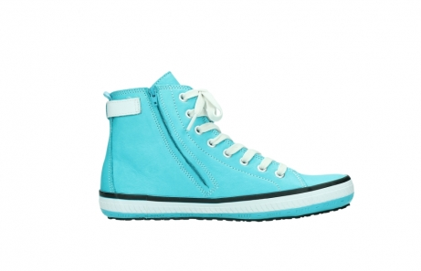 wolky lace up shoes 01225 biker 20760 turquoise leather_13