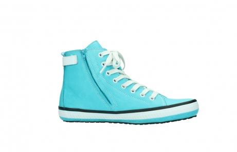 wolky lace up shoes 01225 biker 20760 turquoise leather_14