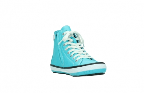 wolky lace up shoes 01225 biker 20760 turquoise leather_17