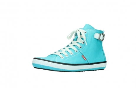 wolky lace up shoes 01225 biker 20760 turquoise leather_23