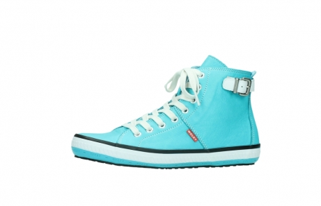 wolky lace up shoes 01225 biker 20760 turquoise leather_24