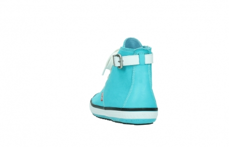 wolky lace up shoes 01225 biker 20760 turquoise leather_6