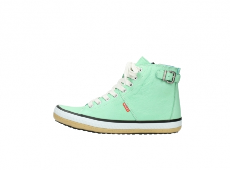 wolky lace up shoes 01225 biker 20790 mint green leather_1